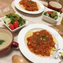 夕飯(*´꒳`*)