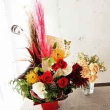 素敵なお花がオフィス…