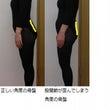 股関節痛と姿勢の関係