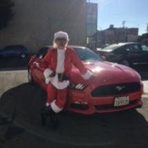 サンタさんがやって来…