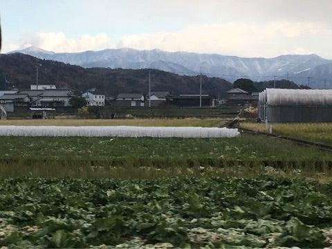 讃岐山脈 初冠雪!