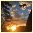 日の出の太陽を見に行…