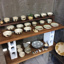 陶芸教室作品展と忘年…