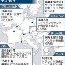 欧州、テロ脅威再び …