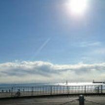 朝の江の島