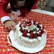 今年は手作りケーキ
