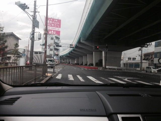 阪神高速池田線下にて 北大阪ぺーぱードライバー