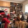 自宅でクリスマスの演…