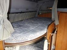 キャンピングカー ピッコラ アルカディア ベッド