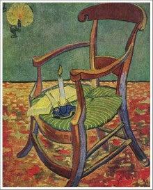 ゴーギャンの椅子 ゴッホ