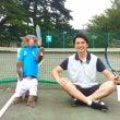 私がサルにテニスを教…