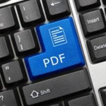 PDFに入力フォーム…