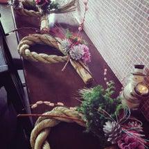 しめ縄飾り作り