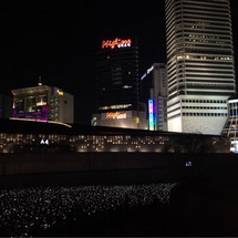 東大門で 真夜中のお…