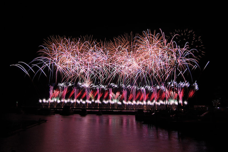 熱海冬花火大会 2016年12月