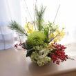 お正月花②生花