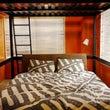 オレンジの寝室 完成…