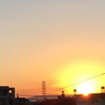 大晦日の朝日