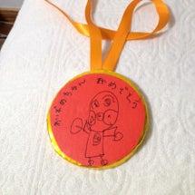 お誕生日メダルを作っ…