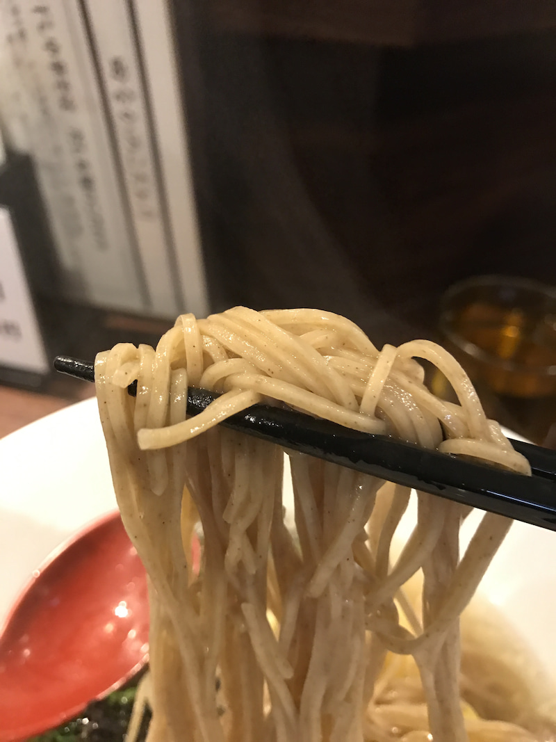 田なかsecond 麺