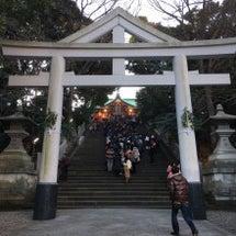 赤坂の日枝神社に初詣…