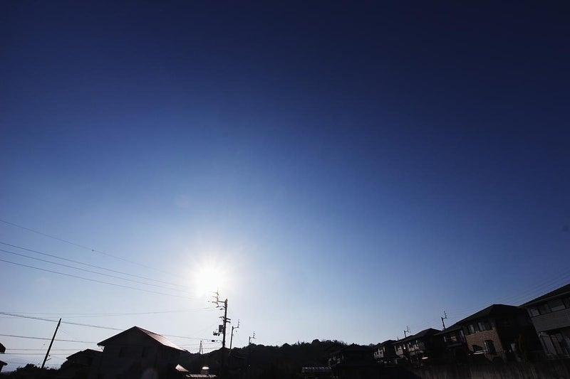 昨日1/1の空 快晴