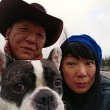 元日の家族写真