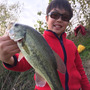 初釣り恒例、紀ノ川編…