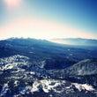 八ヶ岳山頂で一杯。