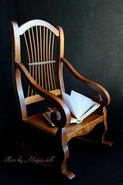 レトロな揺り椅子