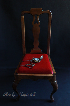 家具職人さんによる天然木の椅子