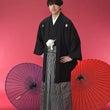 袴姿の成人式記念