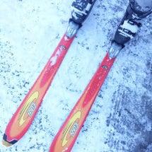 モヤでスキー