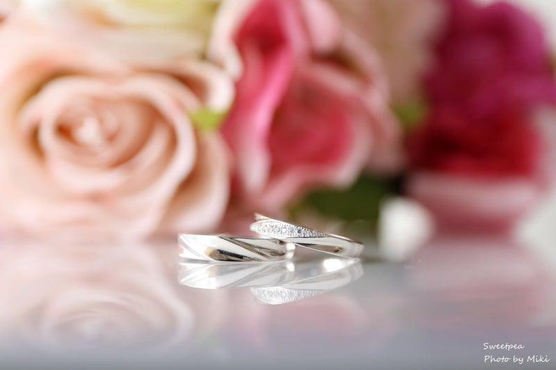ウェディングフォト マリッジリング ブライダルリング 結婚指輪