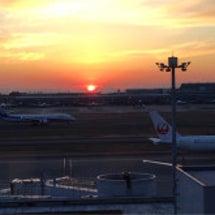 羽田空港でのお仕事
