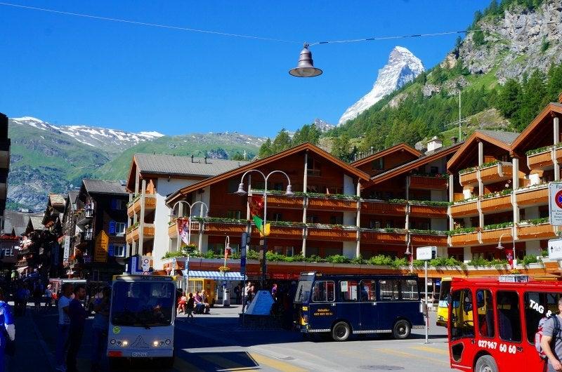 ツェルマットの旅スイス旅行