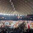 季節外れの東京ドーム…