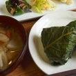 今日のランチ~野沢菜…