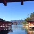 世界遺産の厳島神社へ…