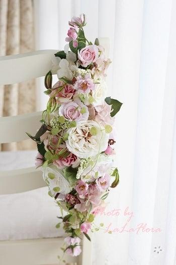 1Dayレッスン アーティフィシャルフラワー造花で作る春色ガーランド