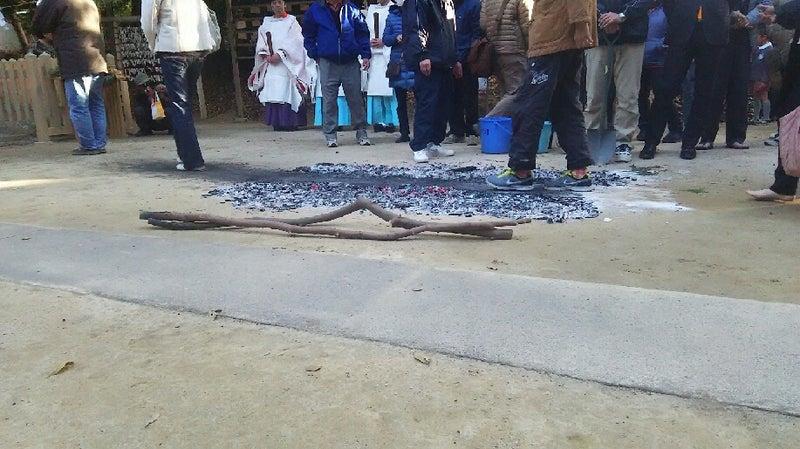 1208 中山神社 鎮火祭 灰