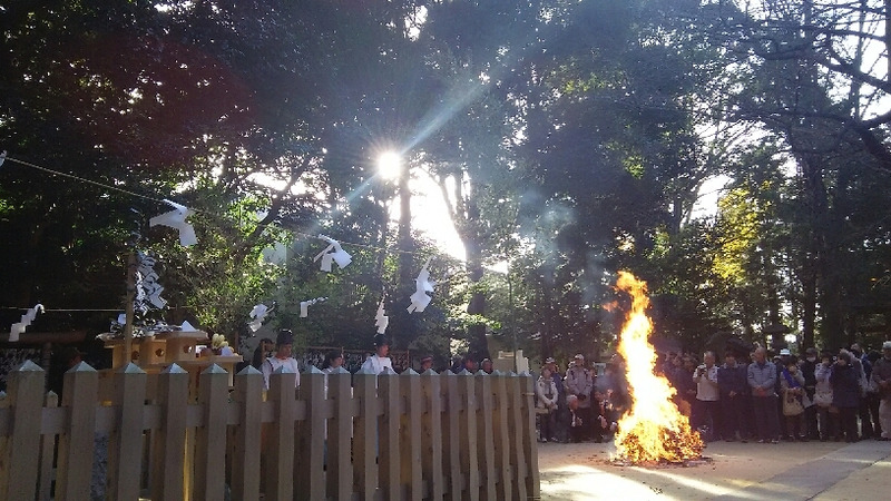 1208 中山神社 鎮火祭 太陽光