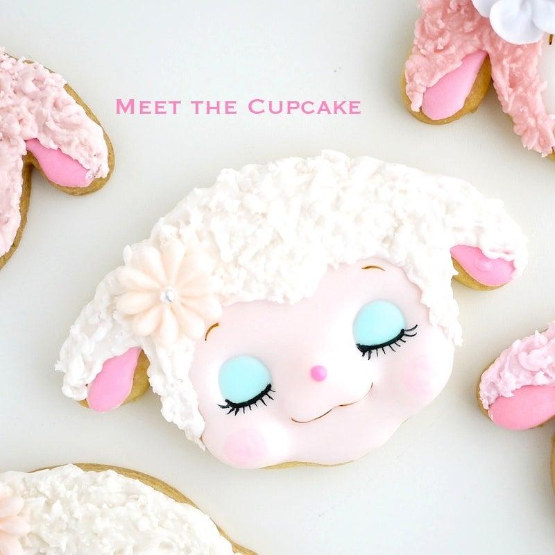 アイシングクッキー ひつじ 羊 可愛い