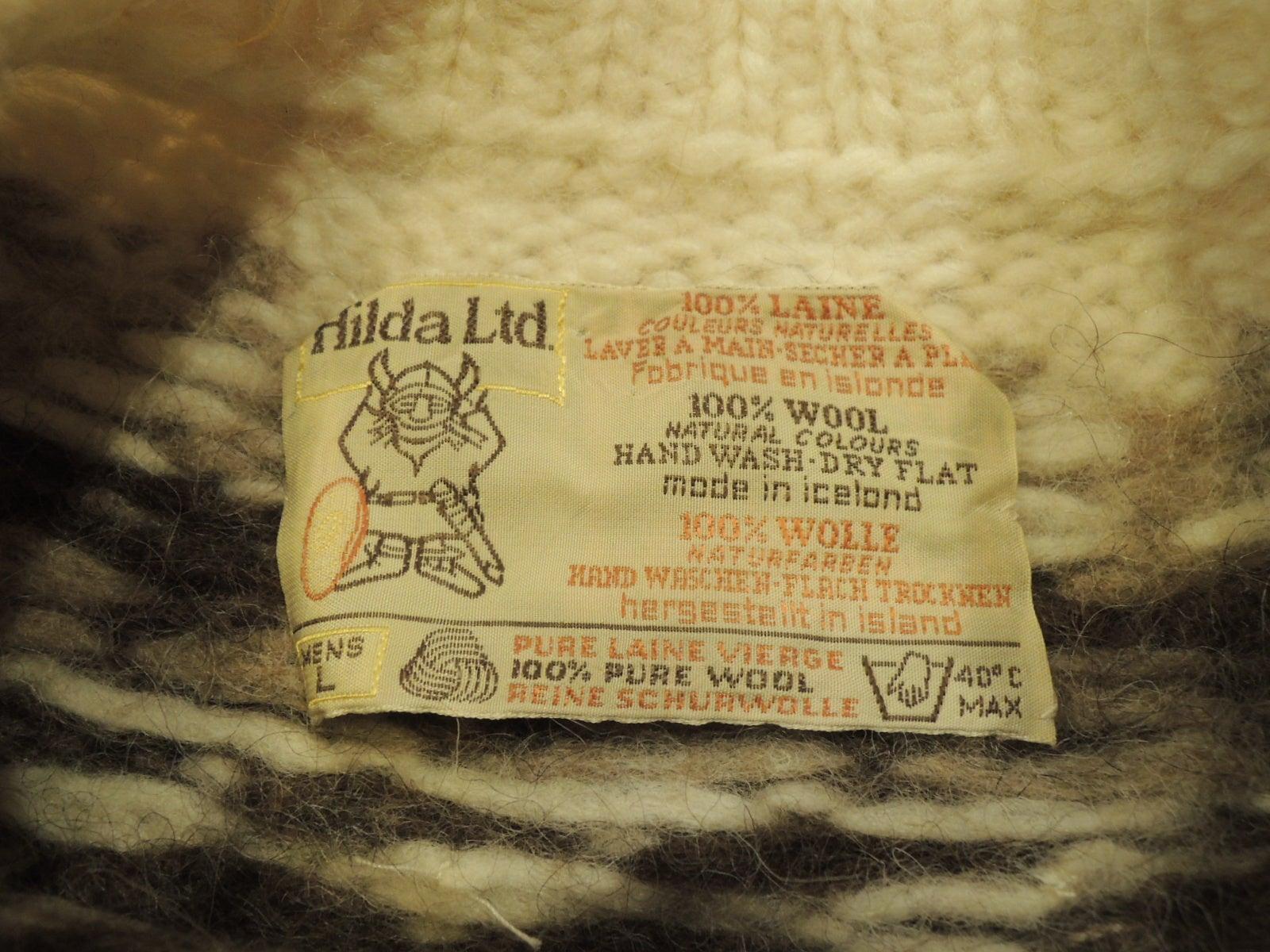 f04c6b46e3b0e アイスランド製 Hilda Ltd. ノルディックセーター