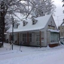 旧軽井沢積雪20cm