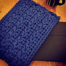 久しぶりの編み物教室…