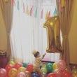 1才の誕生日。