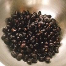 黒豆で納豆を。ナーシ…