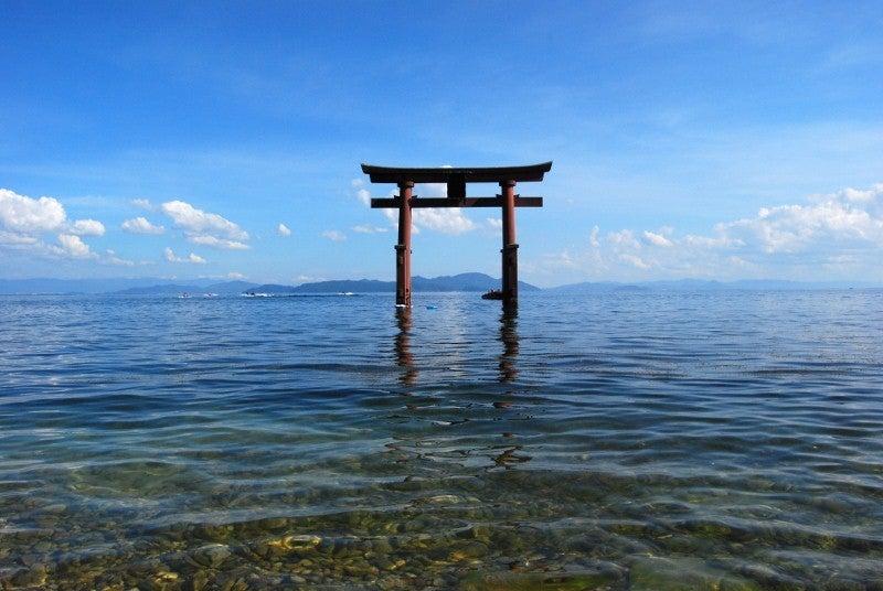 びわ湖「白髭神社」2