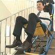 障害者の防災 階段を…